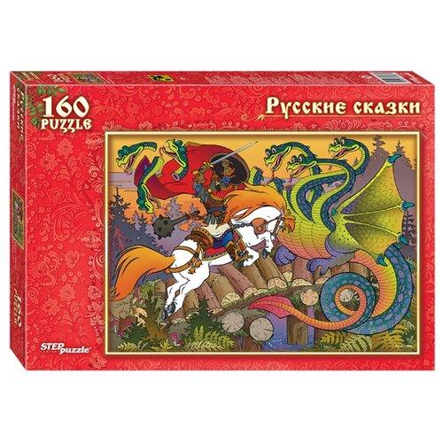 Фото - Пазл Step puzzle Русские сказки Бой на Калиновом мосту (72067), 160 дет. пазл step puzzle мельница лунтик 94033 160 дет