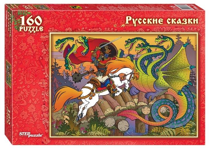 Пазл Step puzzle Русские сказки Бой на Калиновом мосту (72067), 160 дет.