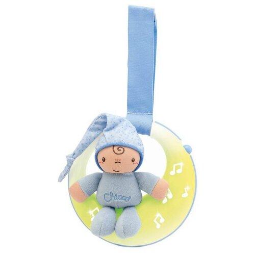Купить Подвесная игрушка Chicco Спокойной ночи, Луна голубой, Подвески