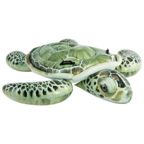 Купить Надувная игрушка Intex Черепаха 57555 зеленый, Надувные игрушки