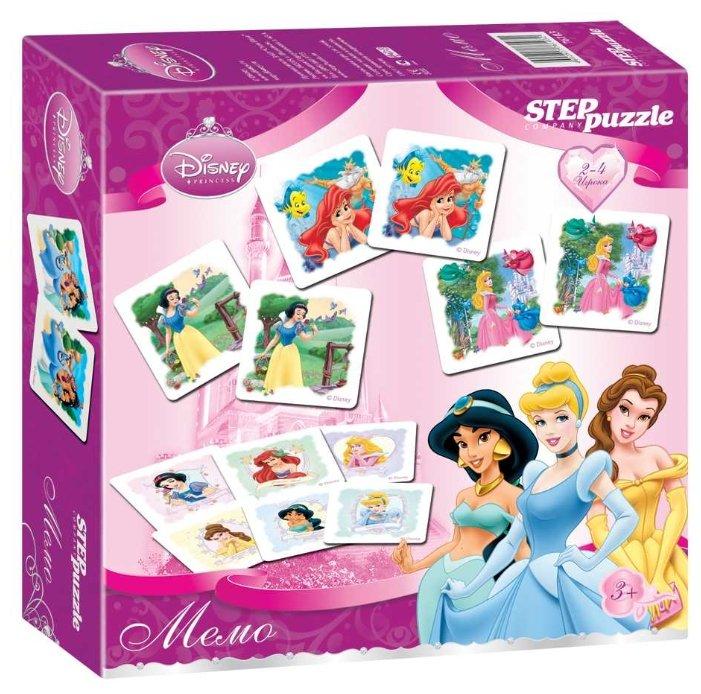 Настольная игра Step puzzle Принцессы. Мемо (Disney)