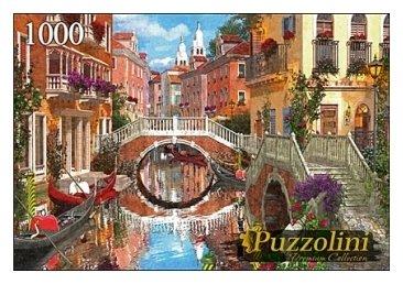 Пазл Рыжий кот Puzzolini Доминик Дэвисон Мост В Венеции (MGPZ1000-7736), 1000 дет.