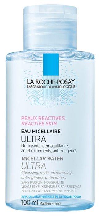 La Roche-Posay мицеллярная вода для чувствительной и склонной к аллергии кожи лица и глаз Ultra Reactive, 200 мл