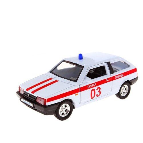 цена на Легковой автомобиль Autotime (Autogrand) Lada 2108 скорая помощь (3307) 1:36 белый/красный