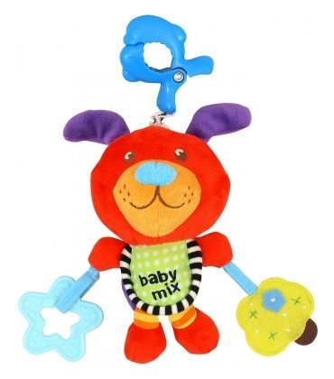 Подвесная игрушка Baby Mix Собачка (1122)
