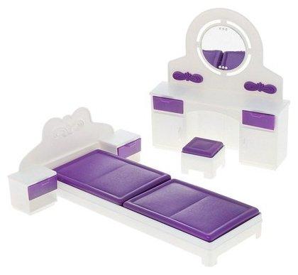 ОГОНЁК Набор мебели для спальни Конфетти (С-1331)