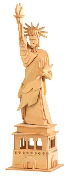 Сборная модель Мир деревянных игрушек Статуя Свободы (П031),,