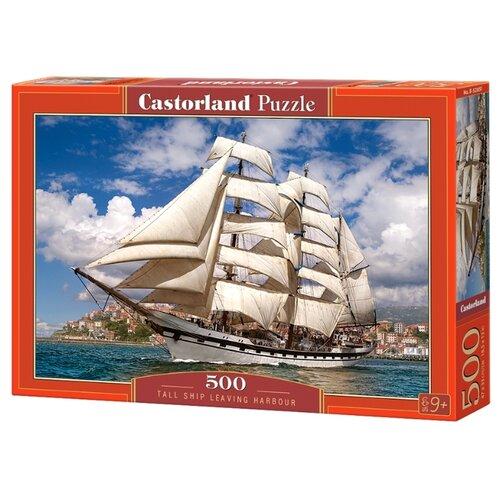 Купить Пазл Castorland Tall Ship Leaving Harbour (B-52851), 500 дет., Пазлы