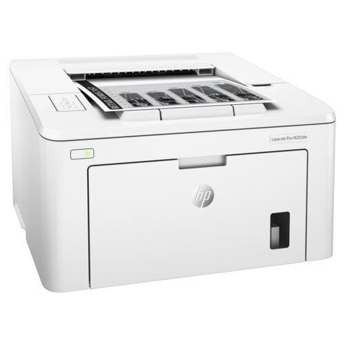 Фото - Принтер HP LaserJet Pro M203dn белый принтер hp laserjet pro m203dw g3q47a