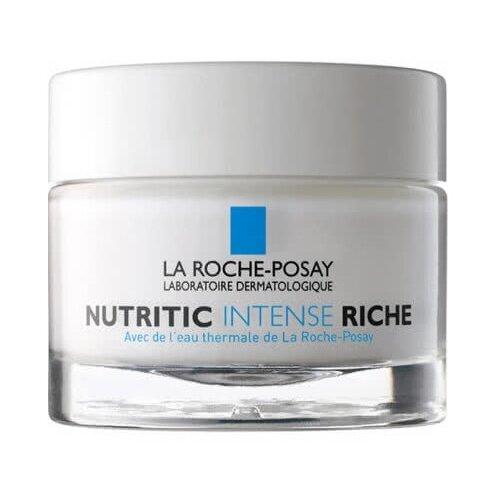 La Roche-Posay Nutritic Intense Riche Питательный крем для лица для глубокого восстановления сухой и очень сухой кожи, 50 мл la roche posay substiane riche