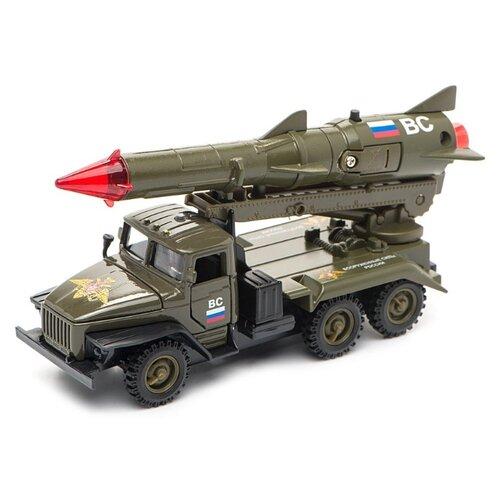 Ракетная установка ТЕХНОПАРК Урал Вооруженные силы (CT10-066-4) 1:43 зеленый tamaris 1 1 23704 28 066