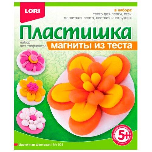 Масса для лепки LORI Пластишка магниты - Цветочная фантазия (Мт-003)Пластилин и масса для лепки<br>