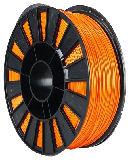 ABS пруток НИТ 1.75 мм морковный
