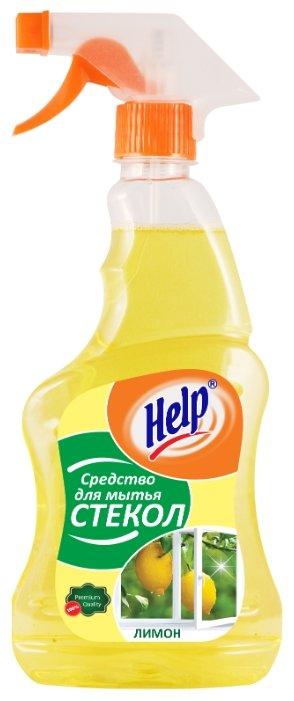Спрей Help Лимон для мытья стекол (триггер)