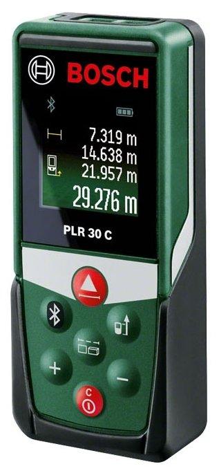 Лазерный дальномер BOSCH PLR 30 C — купить по выгодной цене на Яндекс.Маркете