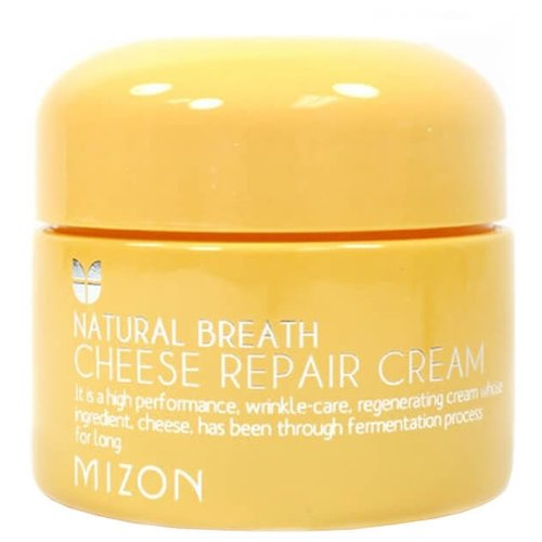 Mizon Natural Breath Cheese repair cream Крем для лица сырный, 50 мл