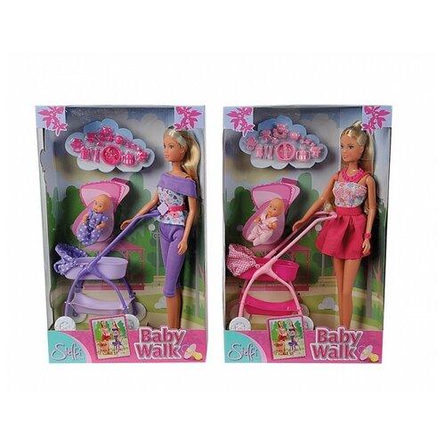 Фото - Набор кукол Steffi Love Штеффи с ребенком, 29 см, 5733067029 набор кукол steffi love штеффи с новорожденным 29 см 5730861