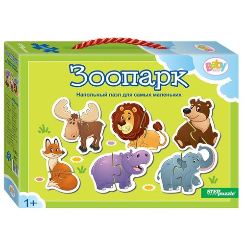 Набор пазлов Step puzzle Baby Step Зоопарк (70121)