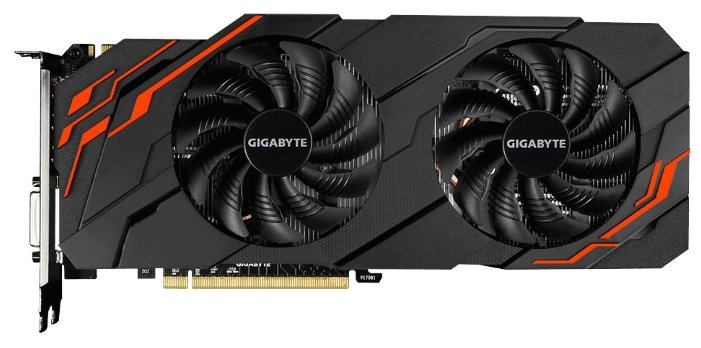 GIGABYTE GeForce GTX 1070 Ti 1607Mhz PCI-E 3.0 8192Mb 8008Mhz 256 bit DVI HDMI HDCP WINDFORCE
