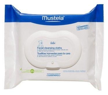 Mustela bebe салфетки для лица очищающие 25 штук