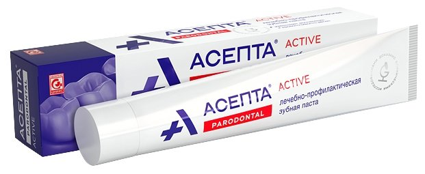 Зубная паста Асепта Parodontal Актив 75 мл