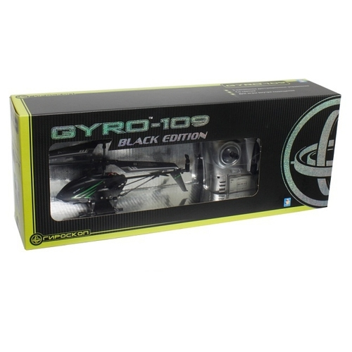 Вертолет 1 TOY GYRO-109 Black Edition (Т58768) 18.5 см
