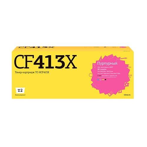 Картридж T2 TC-HCF413X, совместимый картридж t2 tc x3119 совместимый
