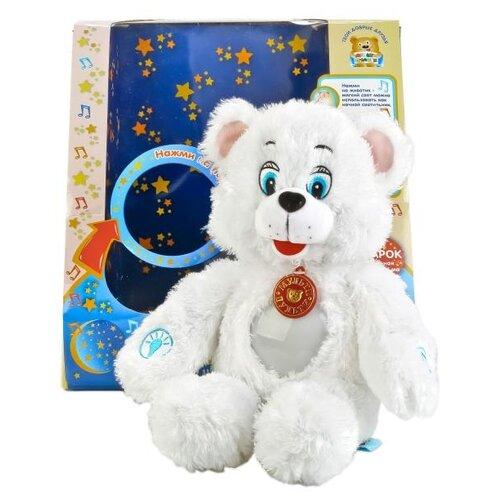 Игрушка-ночник Мульти-Пульти Лунный мишка 38 смМягкие игрушки<br>
