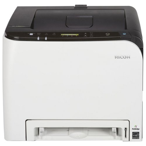 Фото - Принтер Ricoh SP C261DNw, белый/черный принтер ricoh sp 6430dn белый