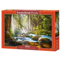 Пазл Castorland Forest Stream of Light (B-52875) , элементов: 500 шт.