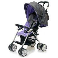 Прогулочная коляска Jetem Elegant dark grey/purple