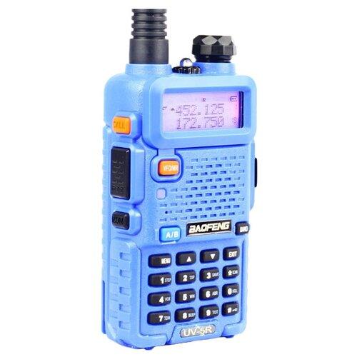 Рация Baofeng UV-5R синий рация baofeng uv 5r 8w 2 режима мощности