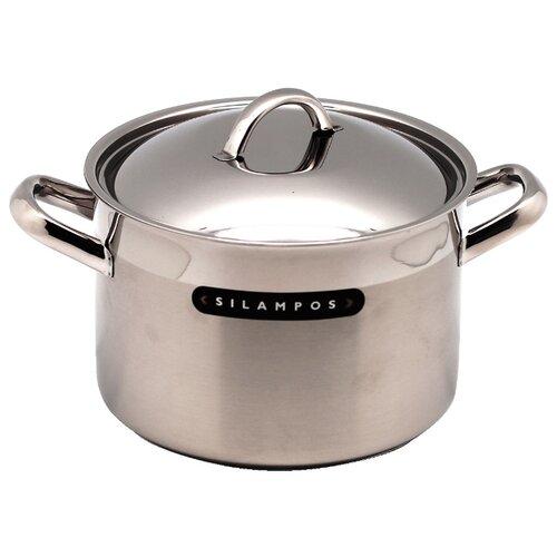 Кастрюля Silampos Europa 5,2 л, стальной silampos чайник заварочный art deco 0 9 л 41281318sc53 silampos