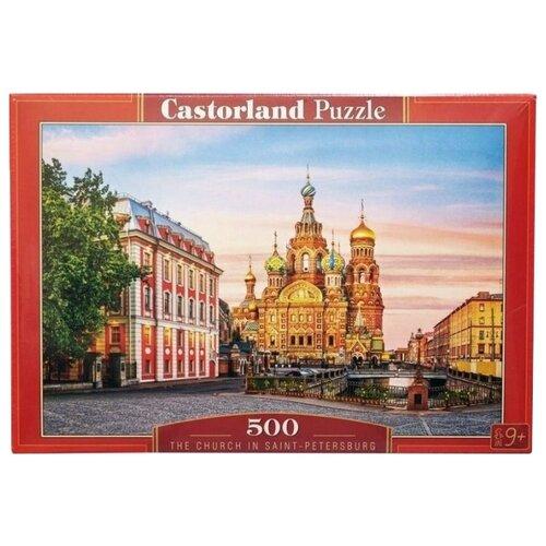 Фото - Пазл Castorland The Church in Saint-Petersburg (B-52257), 500 дет. пазл castorland old sutter's mill b 52691 500 дет