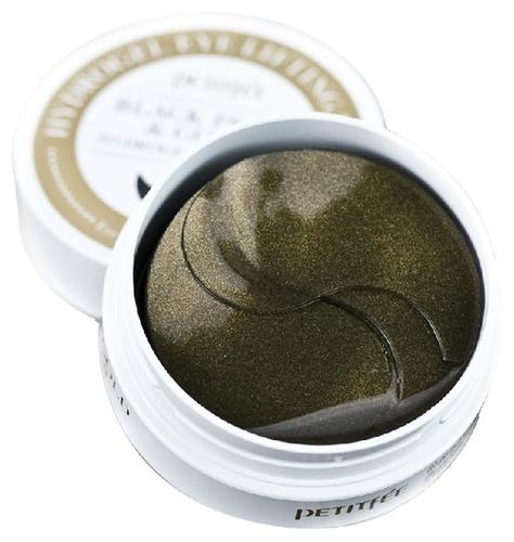 Petitfee Гидрогелевые патчи с экстрактом чёрного жемчуга и био-частицами золота Black Pearl & Gold Hydrogel Eye Patch