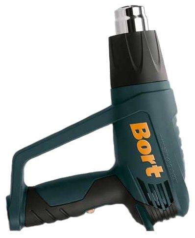 Строительный фен Bort BHG-1600U Case 1600 Вт