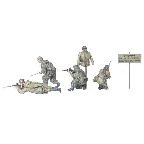 Сборная модель ZVEZDA Советские снайперы 1941-1943 (3597) 1:35, Сборные модели  - купить со скидкой