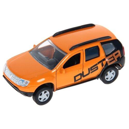 Купить Внедорожник Autotime (Autogrand) Renault Duster тюнинговая версия (49497) 1:38 горчичный / черный, Машинки и техника