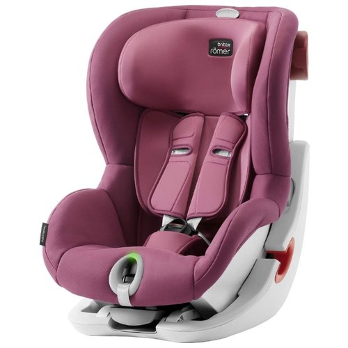 Автокресло группа 1 (9-18 кг) BRITAX ROMER King II, Wine Rose автокресло britax romer king ii black series wine rose trendline