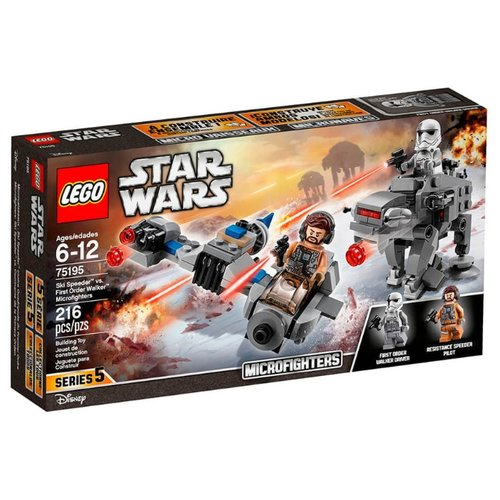 Купить Конструктор LEGO Star Wars 75195 Бой пехотинцев Первого Ордена против Cпидера на лыжах, Конструкторы