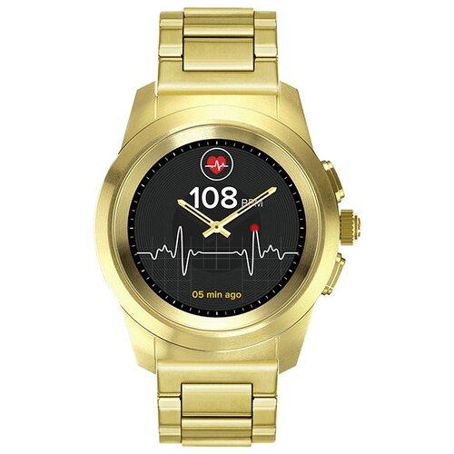 Умные часы MyKronoz ZeTime Elite Petite, gold metal link