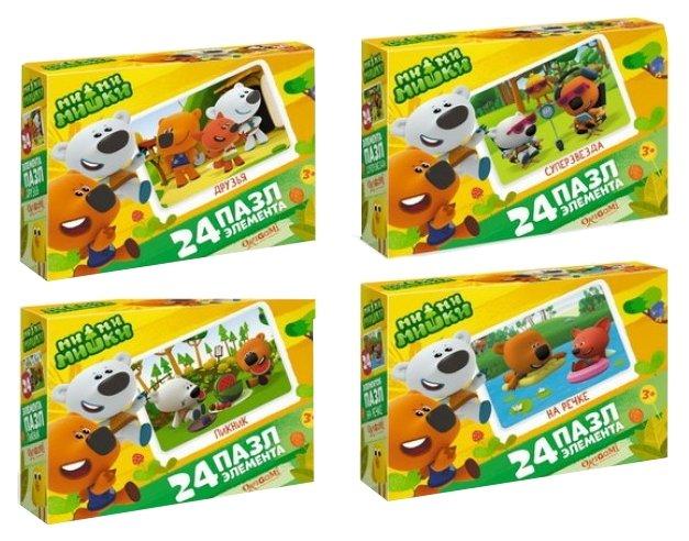 Пазл Origami Мимимишки Мишки на отдыхе (03497) в ассортименте, 24 дет.