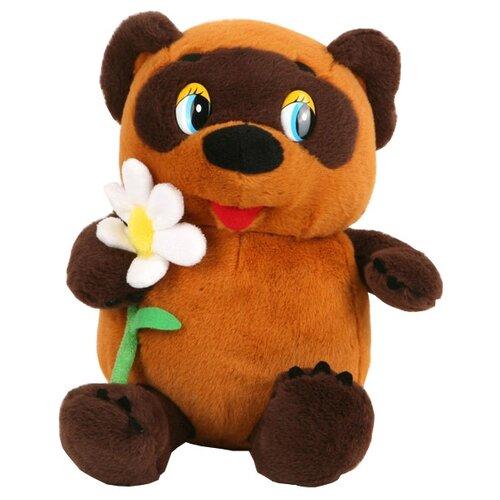 игрушка мягкая мульти пульти винни пух с цветком 25 см озвученный Мягкая игрушка Мульти-Пульти Винни-Пух с цветком 25 см
