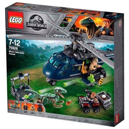 Купить Конструктор LEGO Jurassic World 75928 Погоня за Блю на вертолёте, Конструкторы