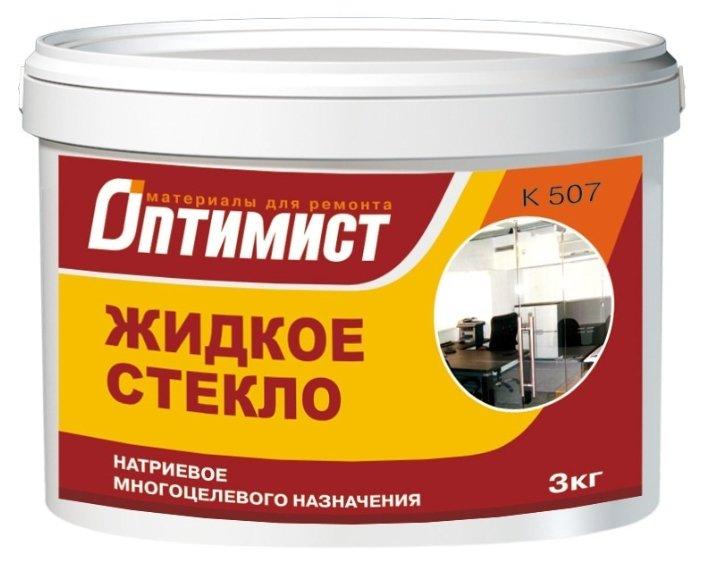 Добавка жидкое стекло Optimist-Elite K 507 3кг