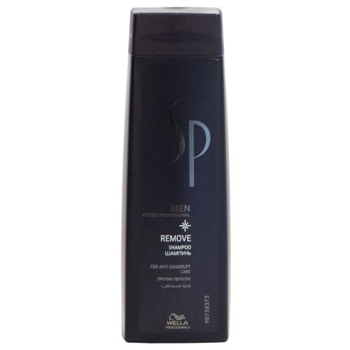 Wella Professionals шампунь SP Men Remove 250 мл wella sp men silver shampoo шампунь с серебристым блеском 250 мл