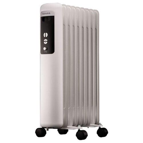 Масляный радиатор Bimatek HO303 белый/черный