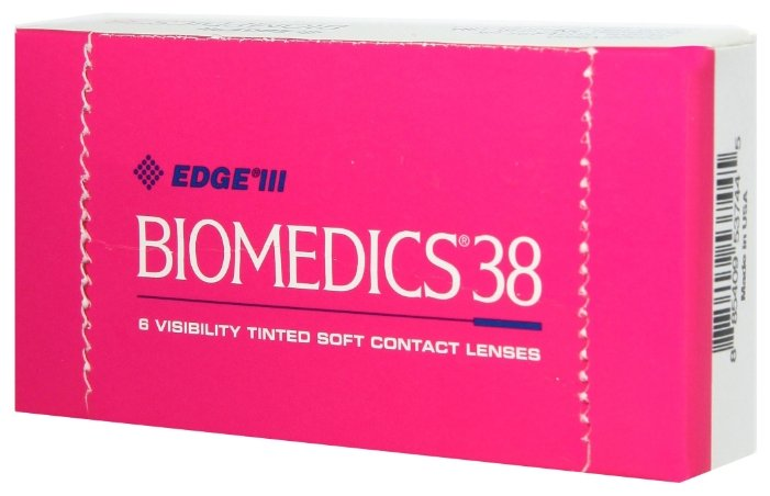 Контактные линзы CooperVision Biomedics 38 (6 линз)