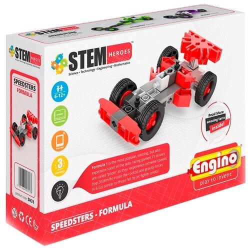 Купить Конструктор ENGINO STEM Heroes SH31 Скоростные механизмы - Формула, Конструкторы