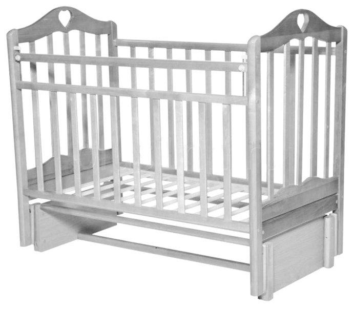 Кроватка Антел Каролина-5 (классическая), продольный маятник